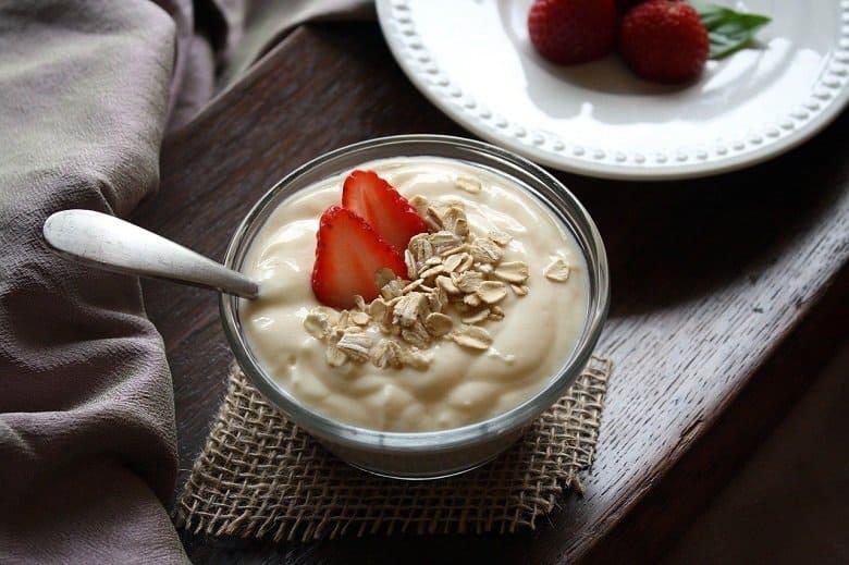 fruit flavored yogurt